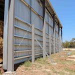Steel Grain Shed Walls