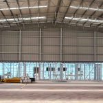 Large Industrial Shed Interior