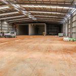 Large Workshop Shed in Toowoomba Interior
