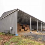 Integrated Hay Shed