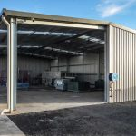 outbuilding at horticulture facility