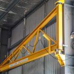 column mounted crane